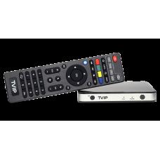 СТАРТОВ ПАКЕТ приемник Mediacenter TVIP S-Box v.605 с вграден WiFi + 3 месечен абонамент.